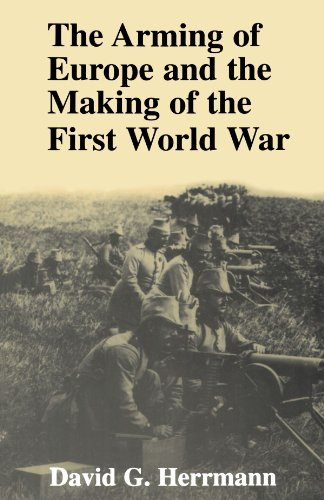 Arming of Europe and the Making of the First World War   1995 edition cover