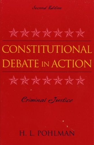Constitutional Debate in Action  2nd 2005 9780742537958 Front Cover