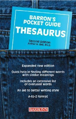 Pocket Guide Thesaurus  2nd 2003 (Revised) 9780764119958 Front Cover