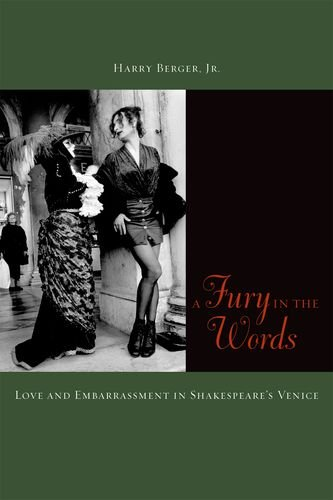 Fury in the Words Love and Embarrassment in Shakespeare's Venice  2012 edition cover