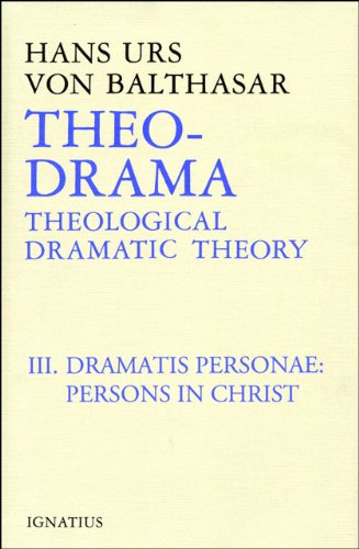 Theo-Drama : Dramatis Personae - Persons in Christ  1992 edition cover