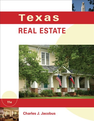 Texas Real Estate  11th 2011 edition cover
