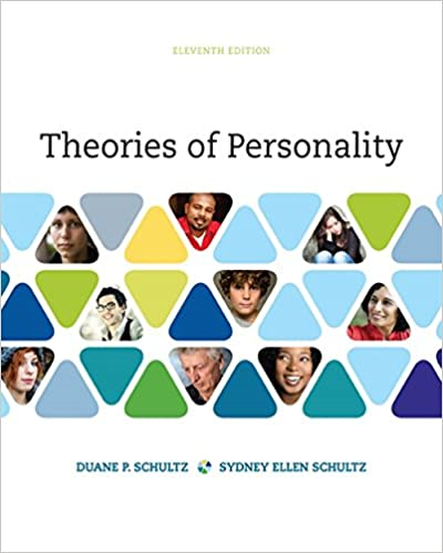 Theories of Personality:   2016 edition cover