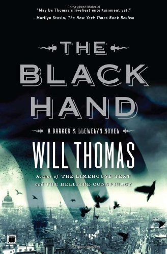 Black Hand A Barker and Llewelyn Novel  2008 edition cover