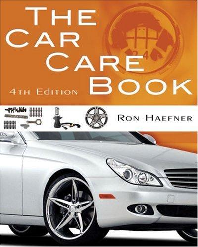 Car Care Book  4th 2010 edition cover