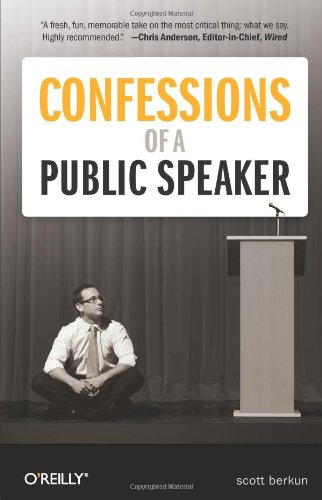 Confessions of a Public Speaker  2nd 2010 edition cover