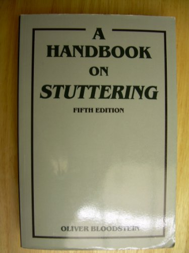 Handbook on Stuttering  5th 1995 (Revised) edition cover