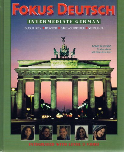 Fokus Deutsch Intermediate German Student Manual, Study Guide, etc.  9780070275959 Front Cover