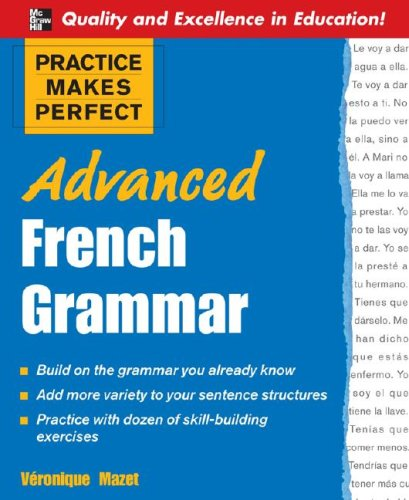 Advanced French Grammar   2008 edition cover