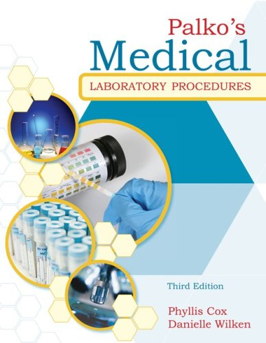 Palko's Medical Laboratory Procedures  3rd 2011 edition cover