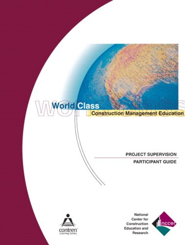 Project Supervision   2003 edition cover