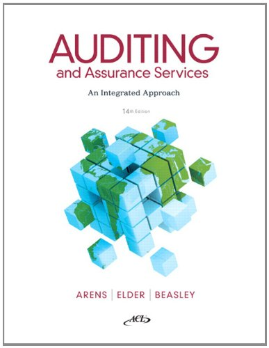 Auditing and Assurance Services  14th 2012 (Revised) edition cover