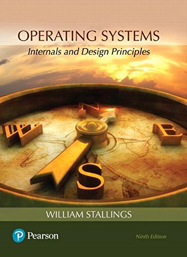 Operating Systems: Internals and Design Principles  2017 9780134670959 Front Cover