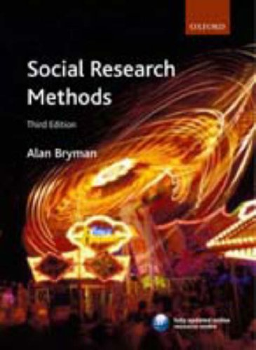 Social Research Methods  3rd 2008 edition cover