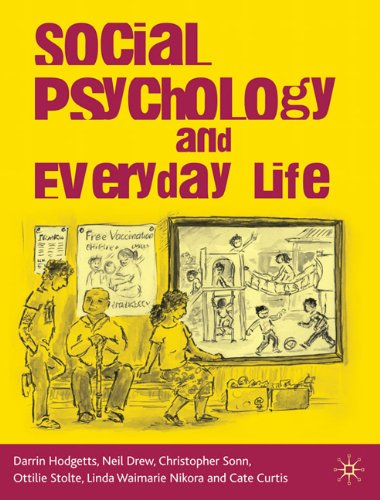 Social Psychology and Everyday Life   2010 9780230217959 Front Cover