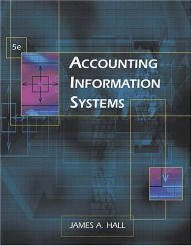 Accounting Information Systems  5th 2007 9780324312959 Front Cover