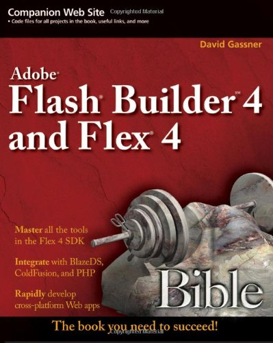 Flash Builder 4 and Flex 4   2010 9780470488959 Front Cover
