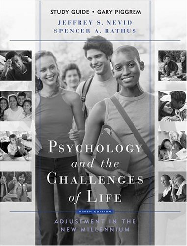 Psychology and the Challenges of Life Adjustment in the New Millennium 9th 2005 9780471650959 Front Cover