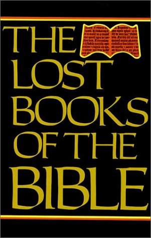 Lost Books of the Bible  1979 (Reprint) edition cover