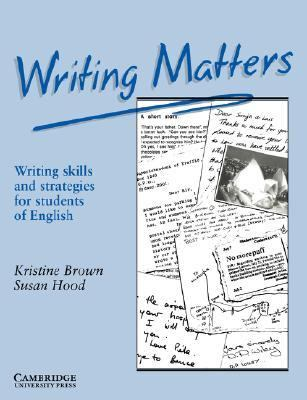 Writing Matters Writing Skills and Strategies for Students of English  1989 9780521348959 Front Cover