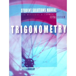 Ssm-Trigonometry 5th 2004 9780534403959 Front Cover