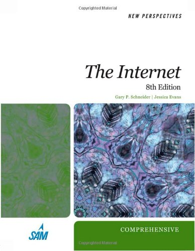 New Perspectives on the Internet Comprehensive 8th 2010 edition cover