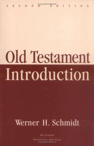 Old Testament Introduction 2nd 2000 9780664221959 Front Cover
