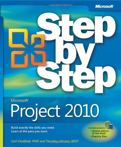 Microsoft Project 2010   2010 edition cover