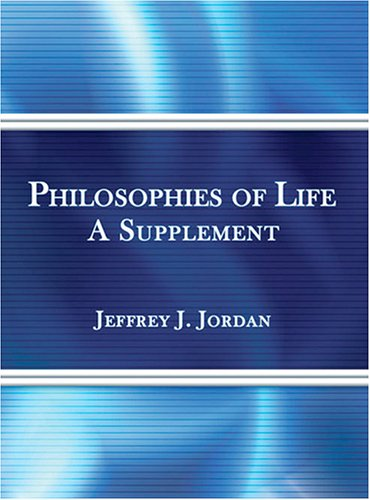 Philosophies of Life Revised  9780757521959 Front Cover