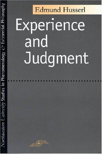 Erpahrung und Urteil   1975 edition cover