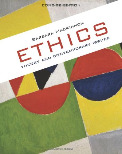 Ethics Theory and Contemporary Issues  2011 edition cover