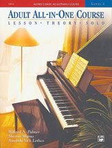 Alfred's Basic Adult All-in-One Piano Course, Bk 2   1995 9780882849959 Front Cover