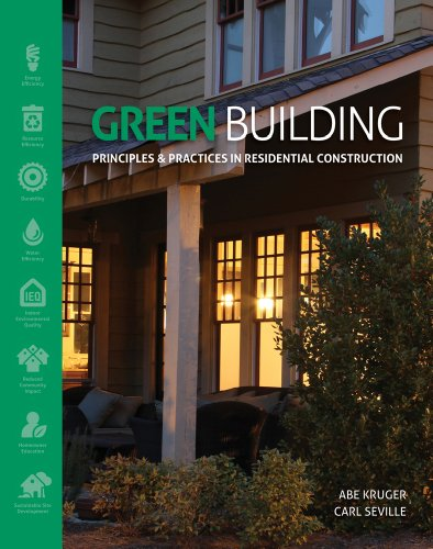 Green Building Principles and Practices in Residential Construction  2013 edition cover
