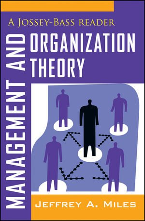 Management and Organization Theory A Jossey-Bass Reader  2012 edition cover