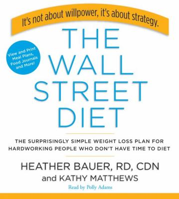 The Wall Street Diet:  2008 9781401388959 Front Cover