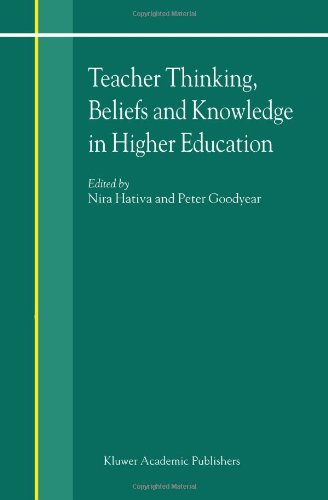 Teacher Thinking, Beliefs and Knowledge in Higher Education   2002 9781402000959 Front Cover