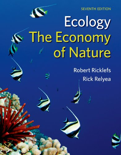 Ecology: The Economy of Nature  2014 edition cover