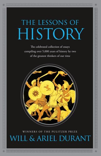 Lessons of History   2010 9781439149959 Front Cover