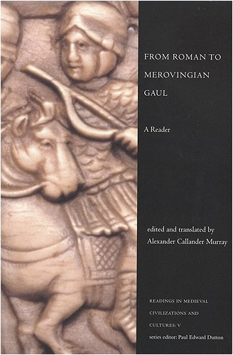 From Roman to Merovingian Gaul A Reader  1999 edition cover