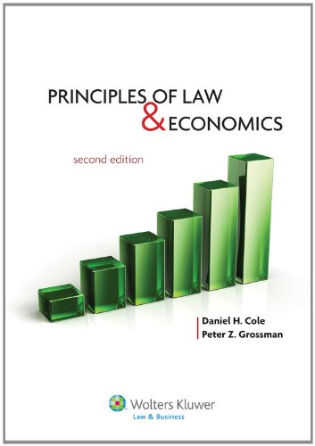 Principles of Law and Economics  2nd 2012 (Revised) edition cover