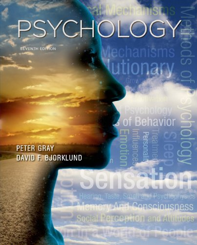Psychology  7th 2014 (Revised) edition cover