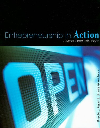 Entrepreneurship in Action A Retail Store Simulation  2009 edition cover