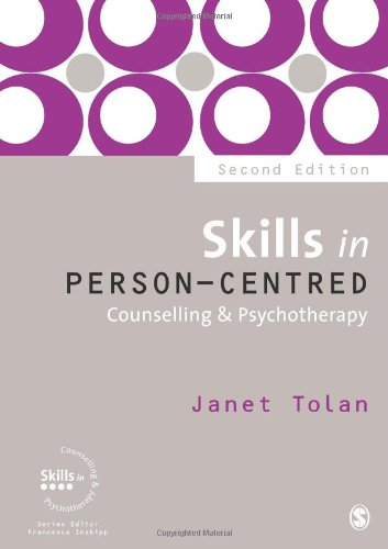 Skills in Person-Centred Counselling and Psychotherapy  2nd 2012 edition cover