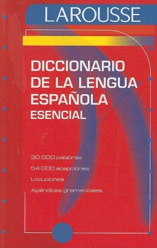 Diccionario Esencial de la Lengua Espanola   2007 edition cover