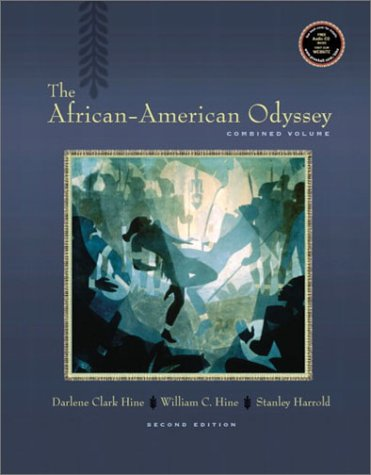 African-American Odyssey Combined Edition 2nd 2003 (Revised) 9780130977960 Front Cover