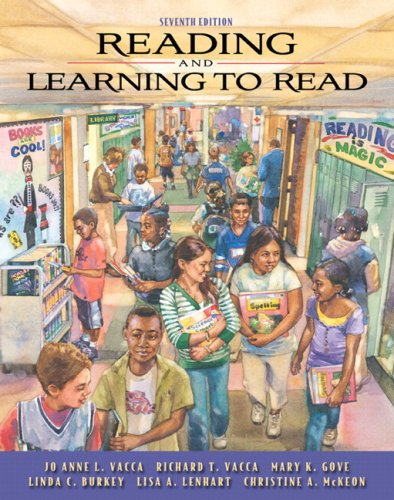 Reading and Learning to Read (with MyEducationLab)  7th 2009 edition cover