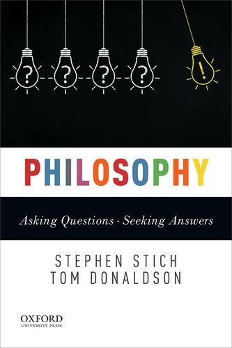 Philosophy Asking Questions--Seeking Answers  2018 9780199329960 Front Cover