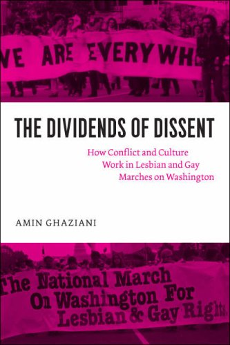 Dividends of Dissent How Conflict and Culture Work in Lesbian and Gay Marches on Washington  2008 edition cover