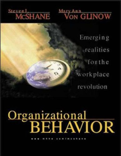 Organizational Behavior  2000 9780256228960 Front Cover