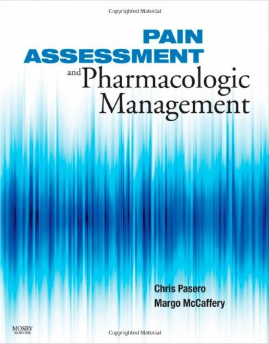 Pain Assessment and Pharmacologic Management   2011 edition cover